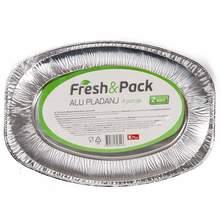 Fresh&Pack Aluminijski pladanj za 4 porcije 2/1