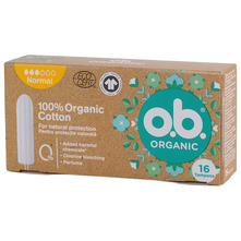 O.B. Organic Tamponi normal 16/1