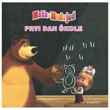Maša i Medvjed-Prvi dan škole