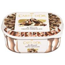 Carte D'Or Sladoled triple chocolate 900 ml