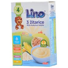 Lino 3 žitarice riža-kukuruz-heljda 210 g