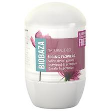 Biobaza Natural Deo roll-on ružino drvo i geranij 50 ml
