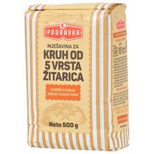 Podravka Mješavina za kruh od 5 vrsta žitarica 500 g