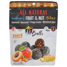 Fit Balls Voćne kuglice marelice, bademi, sjemenke maka i mandarina 144 g