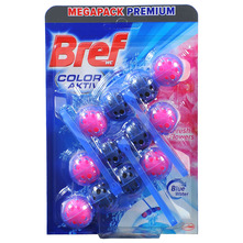 Bref wc color aktiv fresh flowers 3x50 g