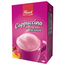 Franck Cappuccino raspberry macaron 148 g