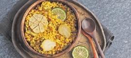Curry bulgur