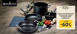 Vrhunska ponuda Rosmarino Roma posuđa i pribora za pripremu Vaših omiljenih jela