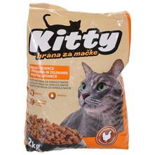 Kitty Hrana za mačke piletina i povrće 2 kg