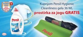 Kupovinom Persil Hygiene gela 36WL osvojite prostirku za jogu gratis!