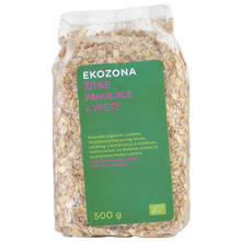 Ekozona Žitne pahuljice 4 vrste 500 g