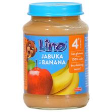 Lino Kašica jabuka i banana 190 g