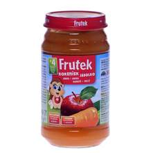 Frutek Kašica mrkva i jabuka 190 g
