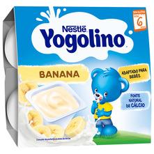 Nestlé Yogolino Desert s bananom 400 g (4x100 g)