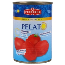 Podravka rajčica pelat 400g