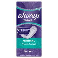 Always Dailies Fresh & Protect Normal Dnevni ulošci 30/1