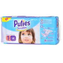 Pufies Sensitive Pelene, veličina 5 (Junior) 11-20 kg 48/1