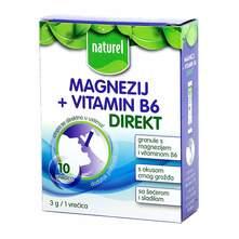 Naturel Magnezij + Vitamin B6 direkt granule 30 g
