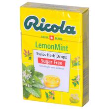 Ricola Tvrdi biljni bomboni lemon mint 40 g