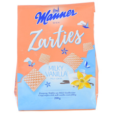 Manner Zarties Vafl vanilija 200 g