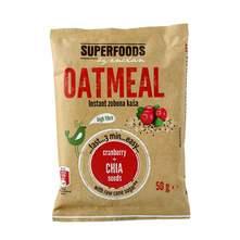 Superfoods Instant zobena kaša brusnica&chia sjemenke 50 g