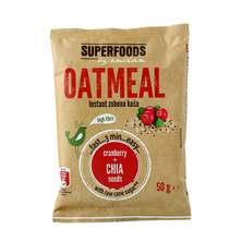 Superfoods by Encian Instant zobena kaša brusnica&chia sjemenke 50 g