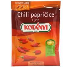 Kotanyi Chili papričice 8 g
