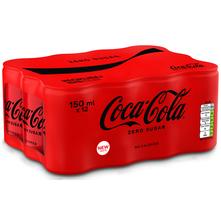 Coca Cola Zero sugar 12x150 ml