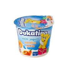 Dukatino voćni jogurt mix razni okusi 125 g