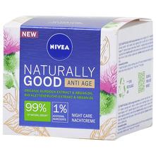 Nivea Naturally Good Anti-age noćna krema 50 ml