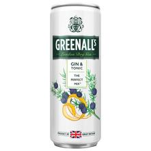 Greenall's London dry gin & tonic 250 ml