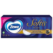 Zewa Softis Papirnate maramice soft and strong 4 sloja 10/1