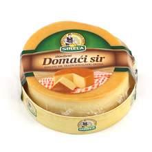 Sirela domaći dimljeni kuhani polutvrdi sir 300 g