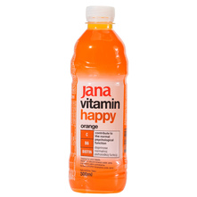 Jana Vitamin Happy Voda orange 500 ml