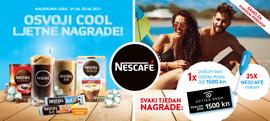 Nagradna igra - Kupi NESCAFÉ proizvode u Konzum webshopu i osvoji COOL ljetne nagrade!