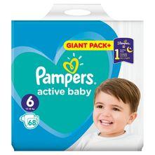 Pampers Active Baby Pelene, veličina 6 (13-18 kg) 68/1