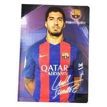 Bilježnica A4 crte tvrdi uvez FCBarcelona Suarez