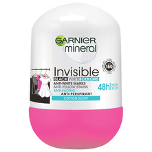 Garnier Mineral Invisible roll-on cotton scent 50 ml