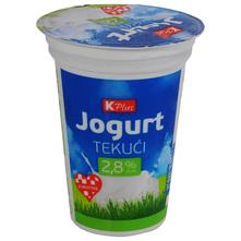 Tekući jogurt 2,8% m.m. K Plus 180 g