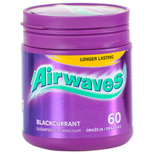 Airwaves blackcurrant žvakaća guma 84 g