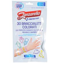 Zanzarella Z-Protection Mirisne i ukrasne narukvice protiv komaraca 30/1