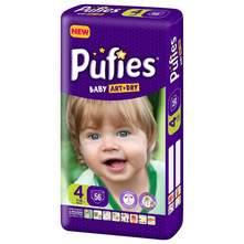Pufies Baby Art Dry Pelene, veličina 4 (Maxi) 7-14 kg 56/1