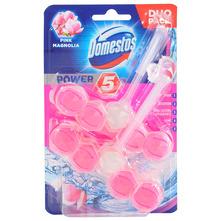 Domestos Power 5 Osvježivač za wc školjku pink magnolia duo pack 2x55 g