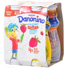 Danonino Tekući jogurt malina 4x100 g