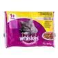 Whiskas Hrana za mačke izbor mesa peradi 4x100 g