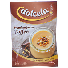 Dolcela Premium puding toffee 43 g