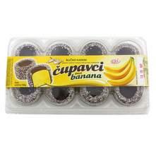 Čupavci banana 150 g Viki Snack