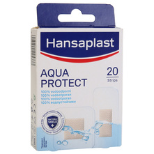 Hansaplast Aqua Protect Flasteri 20/1