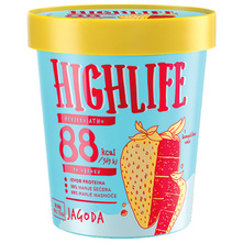 Highlife Sladoled jagoda 460 ml