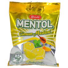 Kandit Mentol Bomboni limun-medeni 100 g